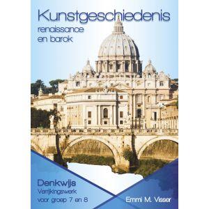 Kunstgeschiedenis Renaissanse en barok - groep 7 en 8  (5 ex.)