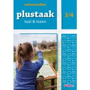 Plustaak Taal & Lezen 3/4, Nieuw antwoordenboek