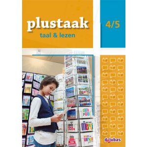Plustaak Taal & Lezen 4/5 Nieuw (5 stuks)