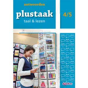 Plustaak Taal & Lezen 4/5, Nieuw antwoordenboek