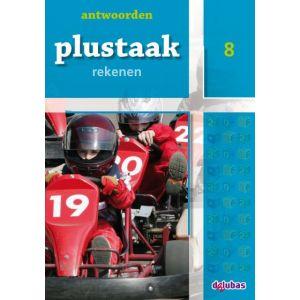 Plustaak rekenen antwoordenboek groep 7/8