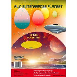 Opdrachtposter: Mijn buitenaardse planeet (5 ex.)