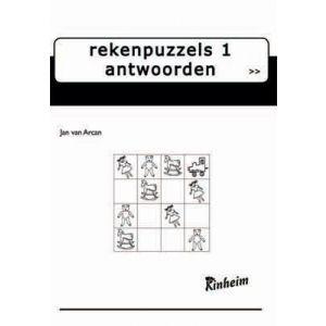 Rekenpuzzels 1, antwoordenboek