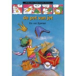 De pet van Jet strips voor beginnende lezers