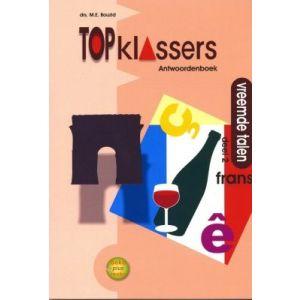 Topklassers: Vreemde talen, Frans, groep 7 - 8, antwoorden