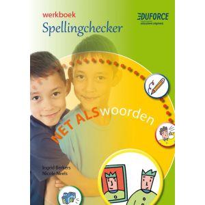 Werkboek Spellingchecker, deel B Net als woorden (5 ex.)