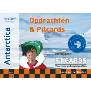 Antarctica - F1 Cards Opdrachten en Pitcards