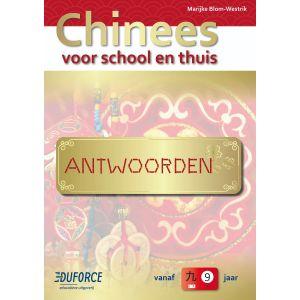 Antwoordenboek Chinees voor school en thuis