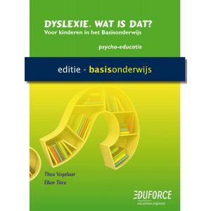 (1 ex.) Werkboek Dyslexie, wat is dat? voor PO