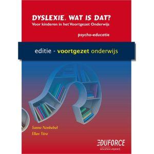 (1 ex.) Werkboek Dyslexie, wat is dat? voor VO