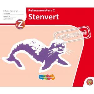 Rekenmeesters 2 Stenvert, antwoorden