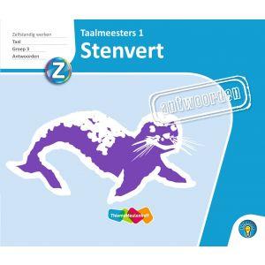 STENVERT - antwoorden Taalmeesters 1, groep 3