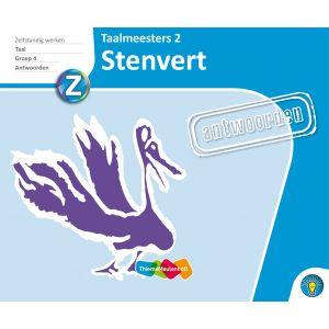 STENVERT - antwoorden Taalmeesters 2, groep 4