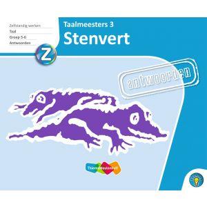 STENVERT - antwoorden Taalmeesters 3, groep 5