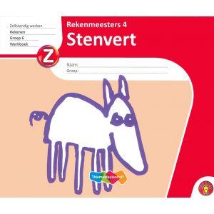 Rekenmeesters 4 Stenvert (5 stuks)
