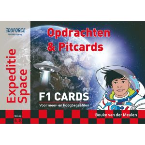Expeditie Space - F1 Cards Opdrachten en Pitcards