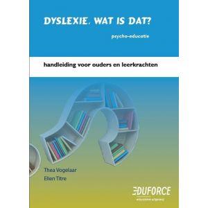 Handleiding Dyslexie, wat is dat?