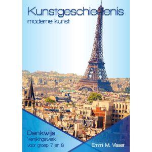 (1 ex.) Kunstgeschiedenis Moderne Kunst - groep 7 en 8