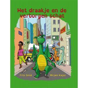 Het draakje en de verborgen schat - leesboek