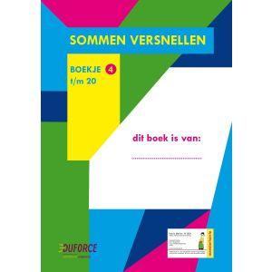 Oefenboekje 4 (1 ex.), Sommen Versnellen