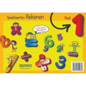 Spiekkaarten Rekenen deel 1