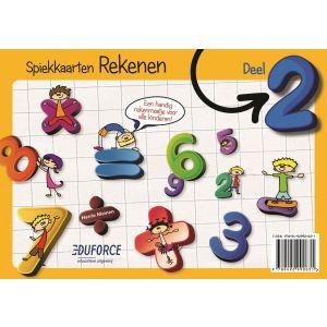 Spiekkaarten Rekenen deel 2