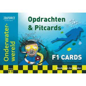 Onderwaterwereld - F1 Cards Opdrachten en Pitcards