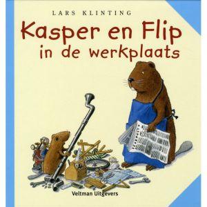 Kasper en Flip in de werkplaats - prentenboek