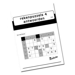 Rekenpuzzels 4, antwoorden