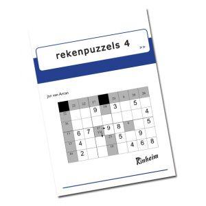 Rekenpuzzels 4 (5 stuks)