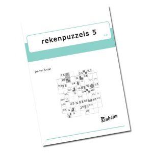 Rekenpuzzels 5 (5 stuks)