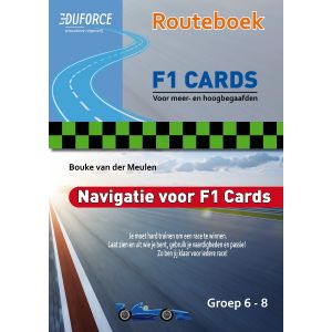 Routeboek F1 Cards - handleiding