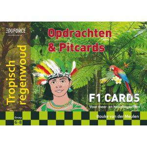 Tropisch regenwoud - F1 Cards Opdrachten en Pitcards
