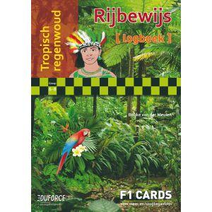 Tropisch regenwoud - Rijbewijs F1 Cards
