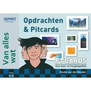 Van alles wat - F1 Cards Opdrachten en Pitcards