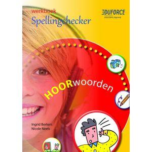 (1 ex.) Werkboek Spellingchecker, deel A Hoorwoorden