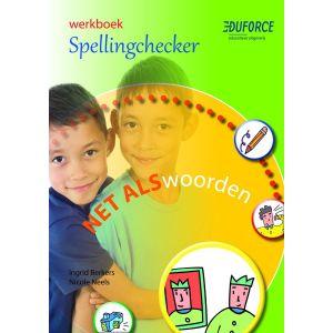 (1ex.) Werkboek Spellingchecker, deel B Net als woorden
