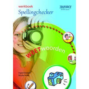 (1 ex.) Werkboek Spellingchecker, deel D Weetwoorden