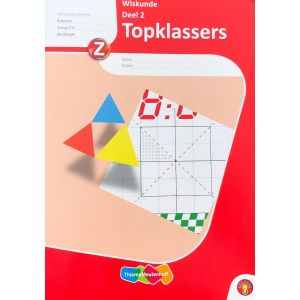 Topklassers Wiskunde deel 2, groep 7 - 8 + VO (5 ex.)