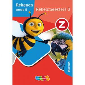 Z-Rekenen groep 5 - Rekenmeesters 3 – Stenvert (5 ex.)
