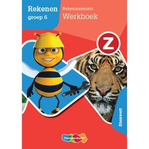 Z-Rekenen groep 6 - Rekenmeesters 4 - Stenvert (5 ex.)
