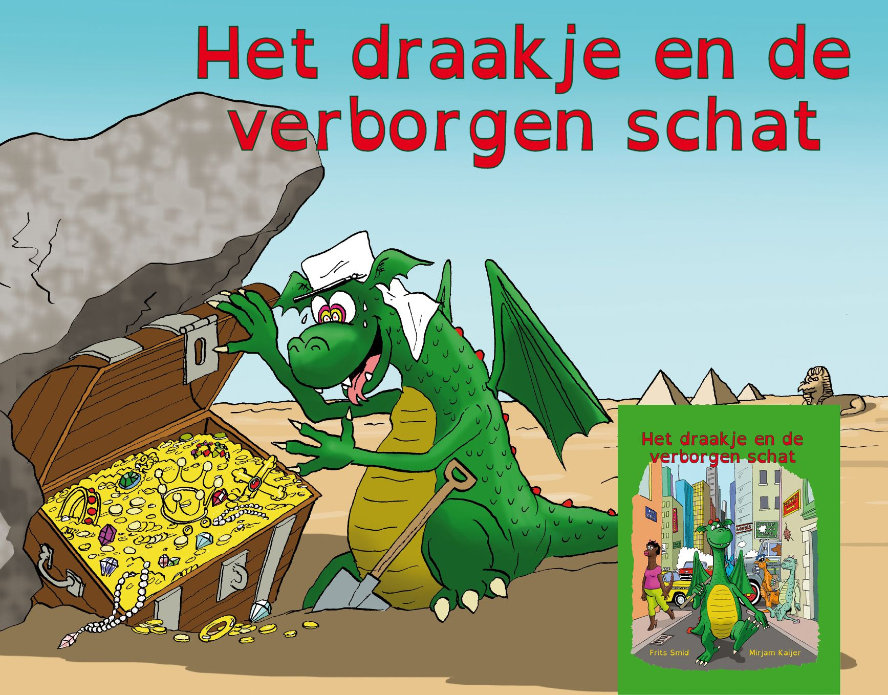 Kinderboek Mirjam Kaijer tegen faalangst