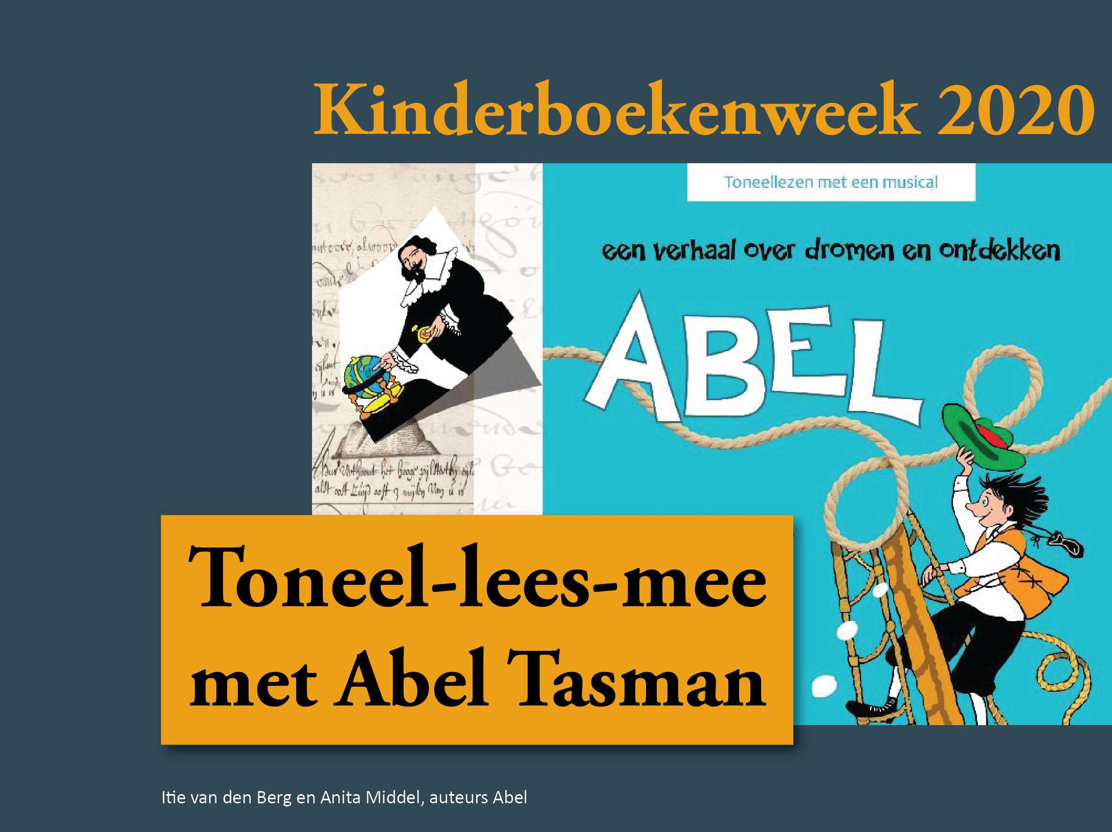 Abel, toneellezen met liedjes in de Kinderboekenweek