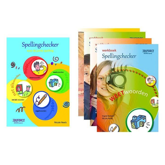 Spellingchecker: handzaam basisboek en naslagwerk voor spelling vanaf groep 4