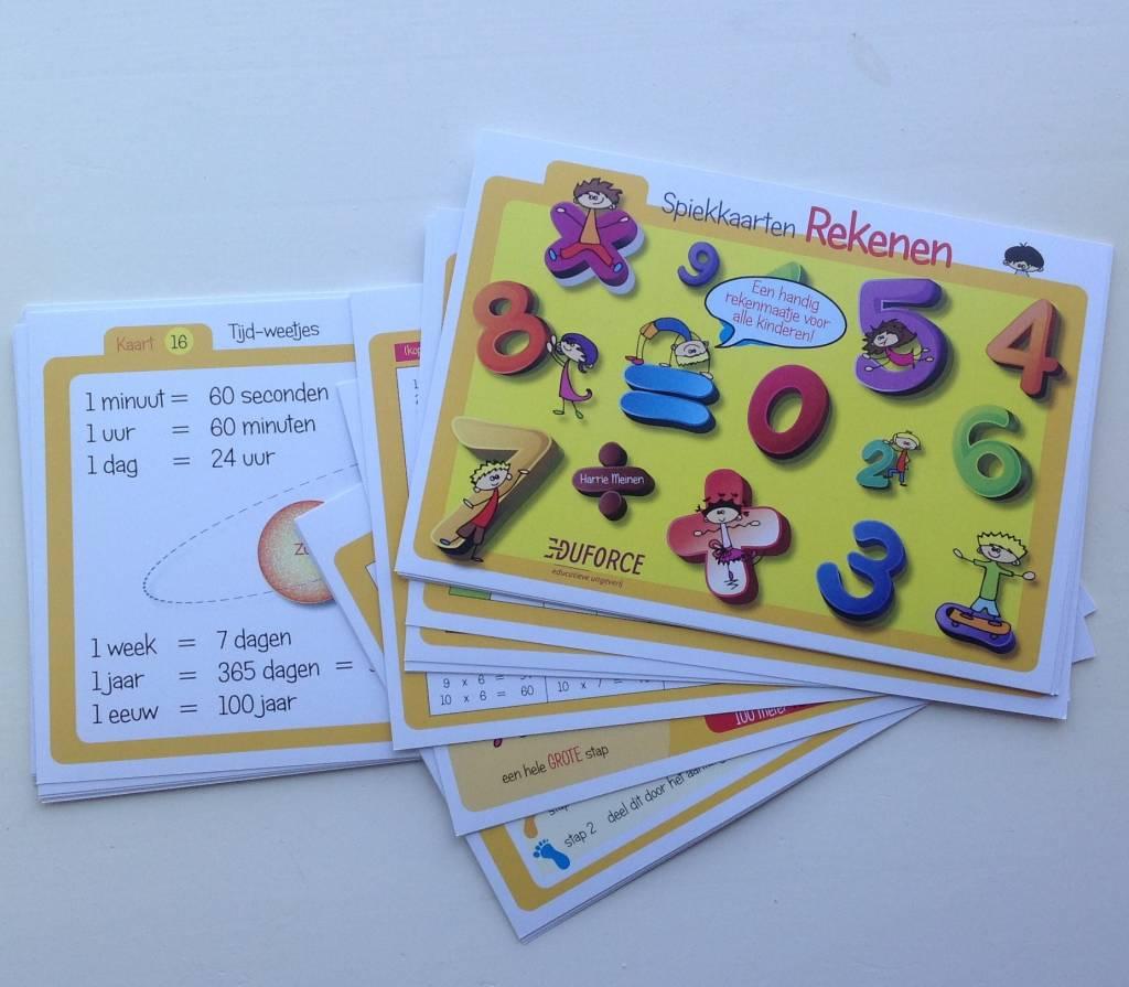Spiekkaarten rekenen: een handig rekenmaatje voor alle kinderen